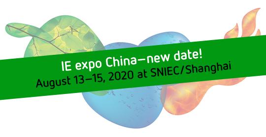 IE Expo China thay đổi ngày