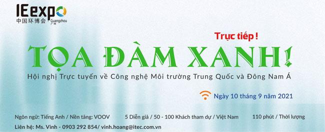 Toạ đàm xanh Hội nghị Môi trường Trung Quốc và Đông Nam Á