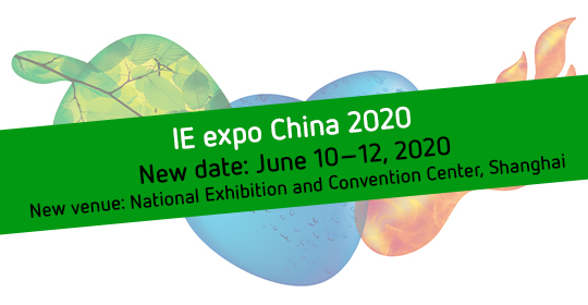 IE expo China 2020 New date, New venue